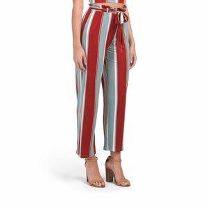 Monteau Paperbag Waist Pants Size Large